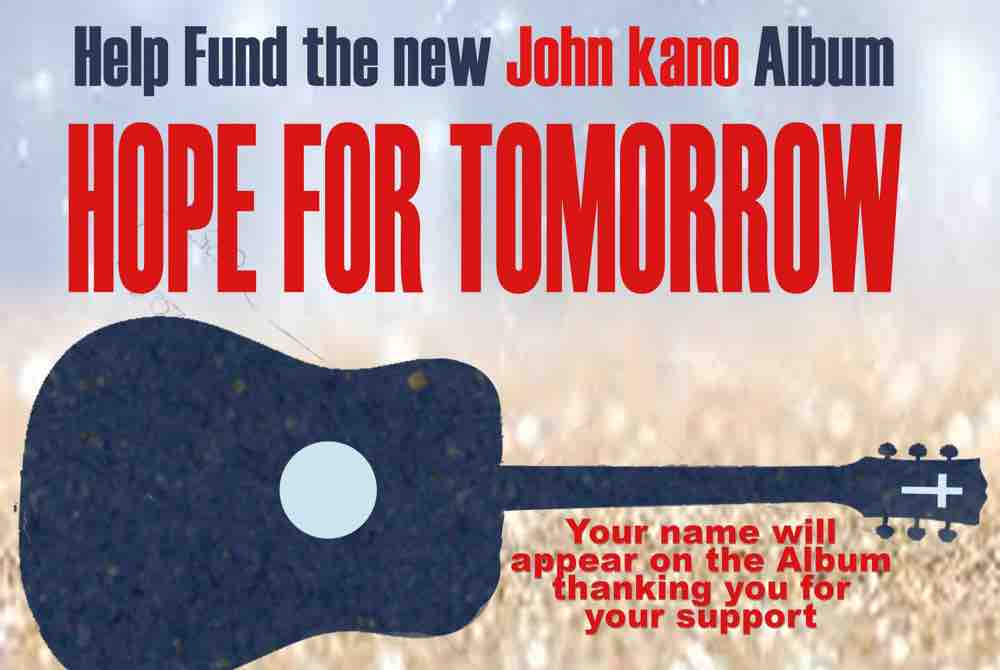 "Support ""Hope for Tomorrow"""